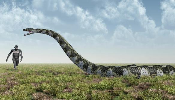 Saiba o que significa sonhar com cobra gigante