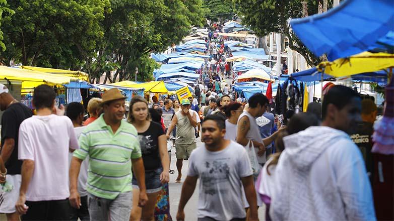 Feira do Colonial em São José dos Campos: