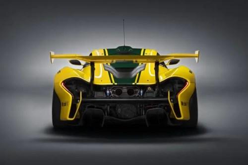 arriere McLaren P1 GTR