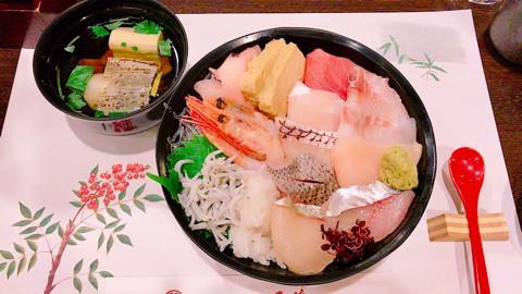 グルメ | 海鮮丼 | 高品質で安いネイルサロンABCネイル 銀座店