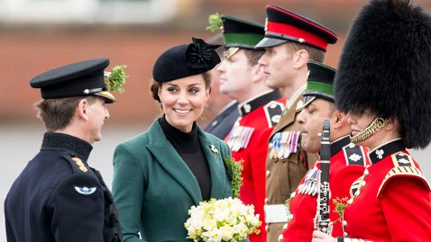 gty kate middleton irish guards jt 130317 wblog Kate Middleton Hoping for a Boy, Says William Wants a Girl