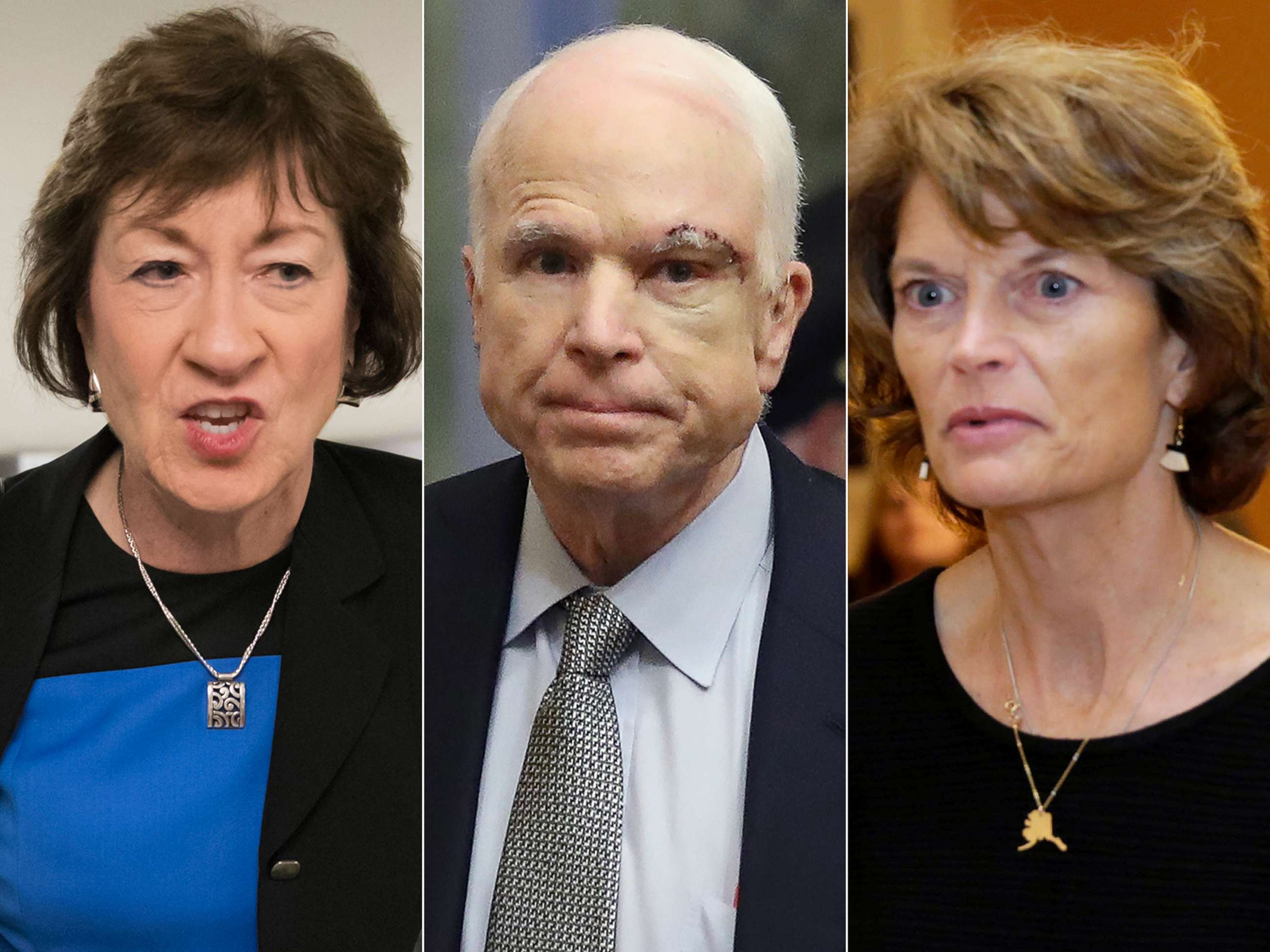 Image result for photos of sen lisa murkowski and sen susan collins