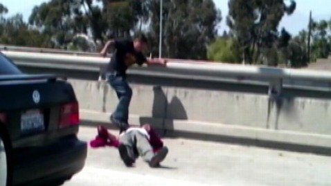 abc road rage update lpl 120620 wblog All 3 Believed on Calif. Road Rage Video Caught; Beaten Man Wont Press Charges