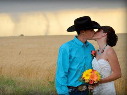 ht tornado wedding 2 kb 120522 main Tornado Backdrop in Kansas Wedding Photos