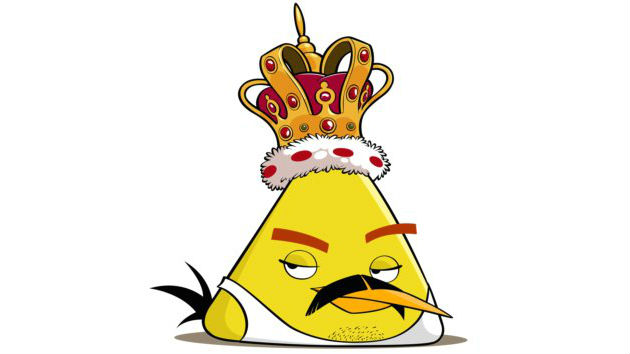 Freddie for a day - Angry birds