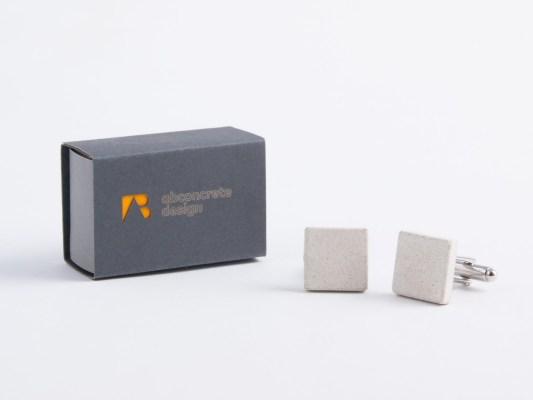 Branded custom made cufflinks for business partners