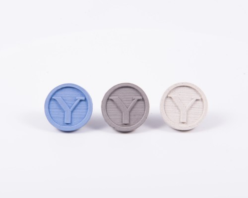 colored concrete pins for graduate students
