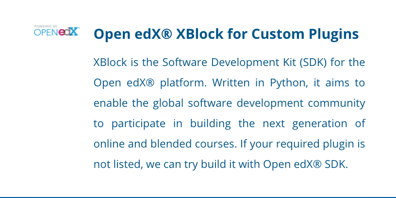 Image of Open edX Plugins