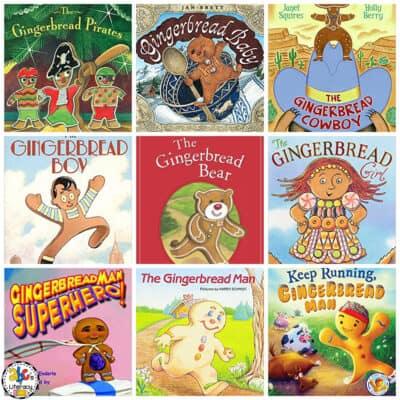 Gingerbread Man Books