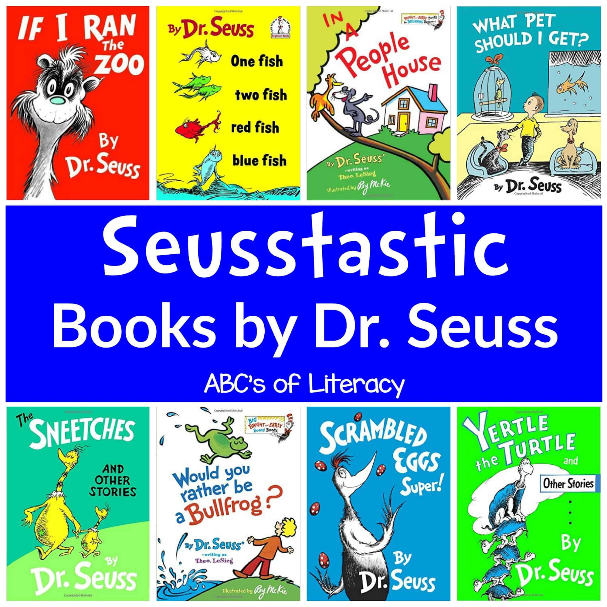 60 Seusstastic Books By Dr Seuss