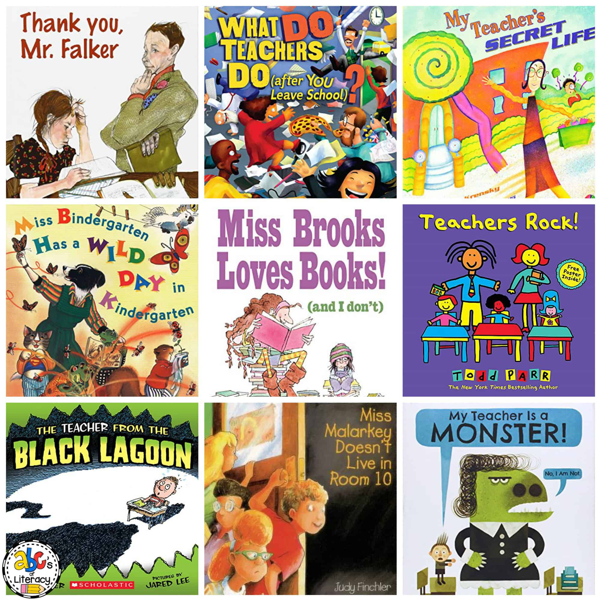 Books about Teachers