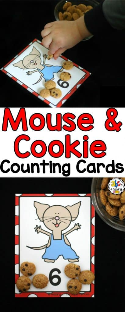 Mouse & Cookie Counting Cards, Counting Cards, Preschool Counting, Preschool Activity, If You Give A Mouse A Cookie, If You Give A Mouse A Cookie Counting Cards