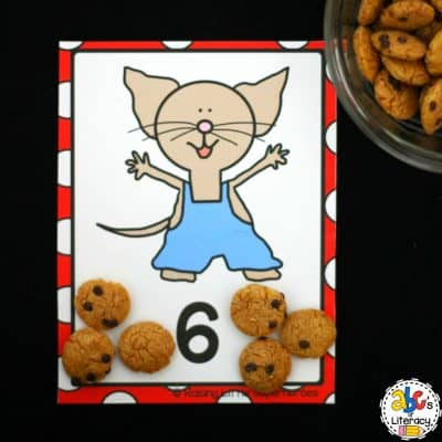 Mouse & Cookie Counting Cards