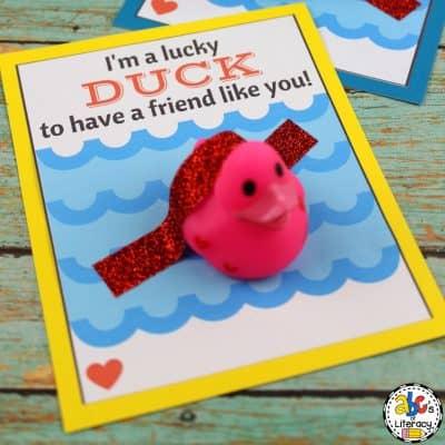 Valentine's Day Duck Cards