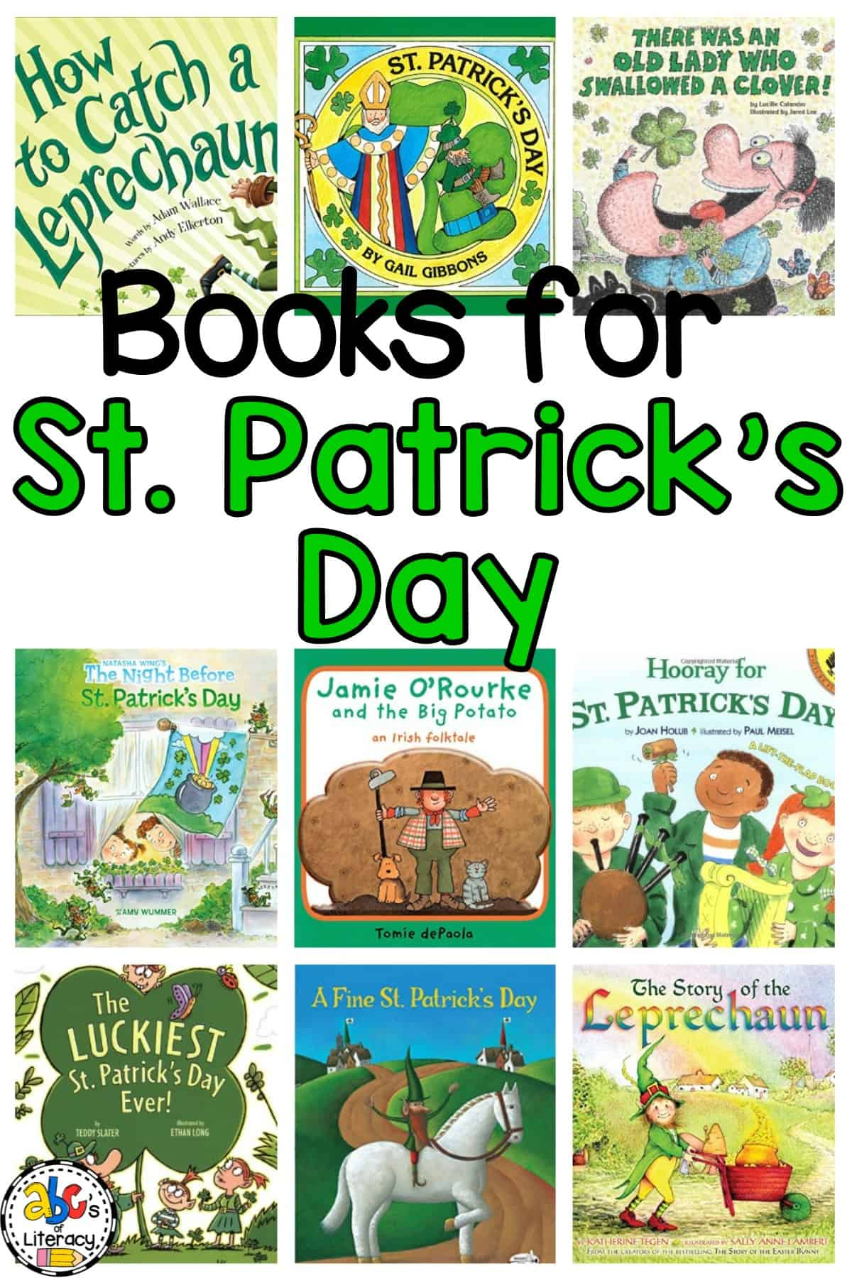St. Patrick's Day Book, Books for St. Patrick's Day, St. Patrick's Day Picture Books