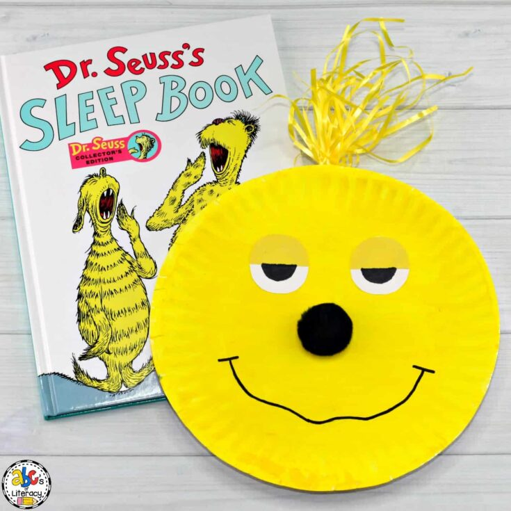 The Sleep Book Paper Plate Craft