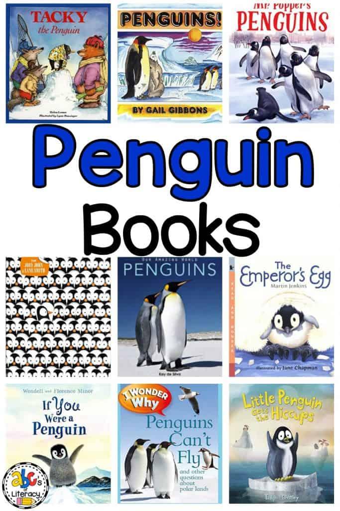Penguin Books, Penguin Activities, Penguin Read Alouds, Penguin Picture Books