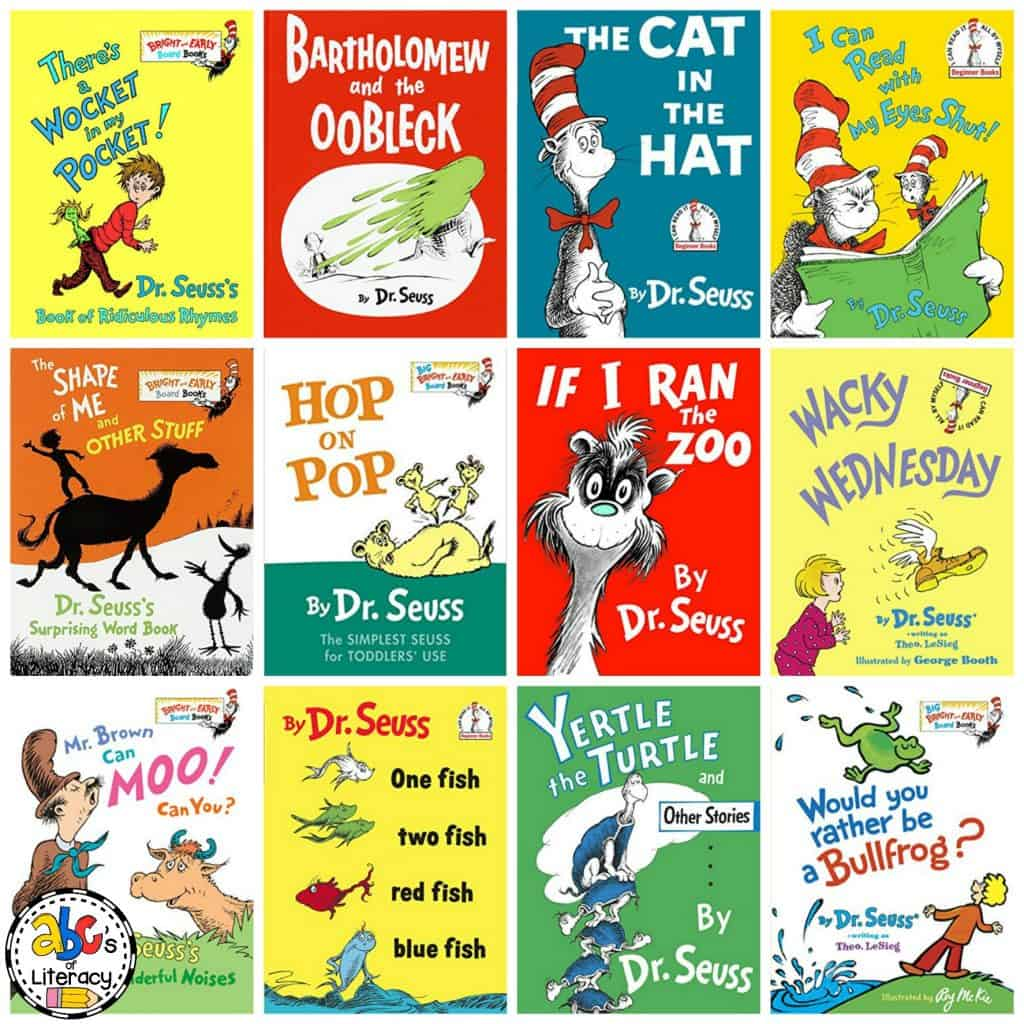 Dr Seuss Book List For Kids Over 60 Books By Dr Seuss