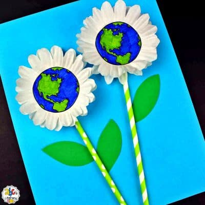 Earth Day Flower Craft