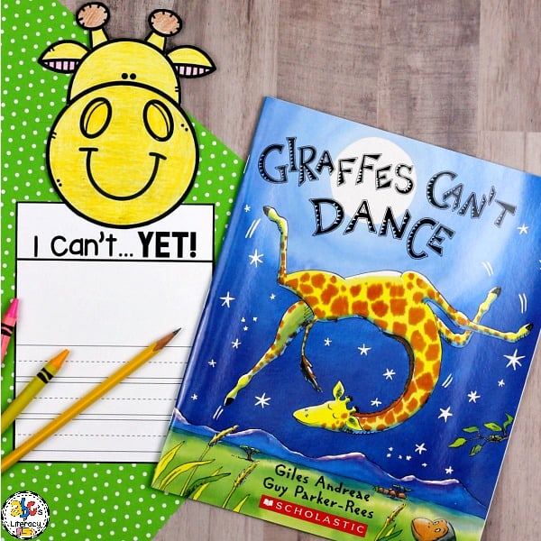 ThePower of Yet Writing Craftis a fun and creative growth mindset activity. This craftivity is perfect for your students to complete after reading the book,Giraffes Can't Dance by Giles Andreae.