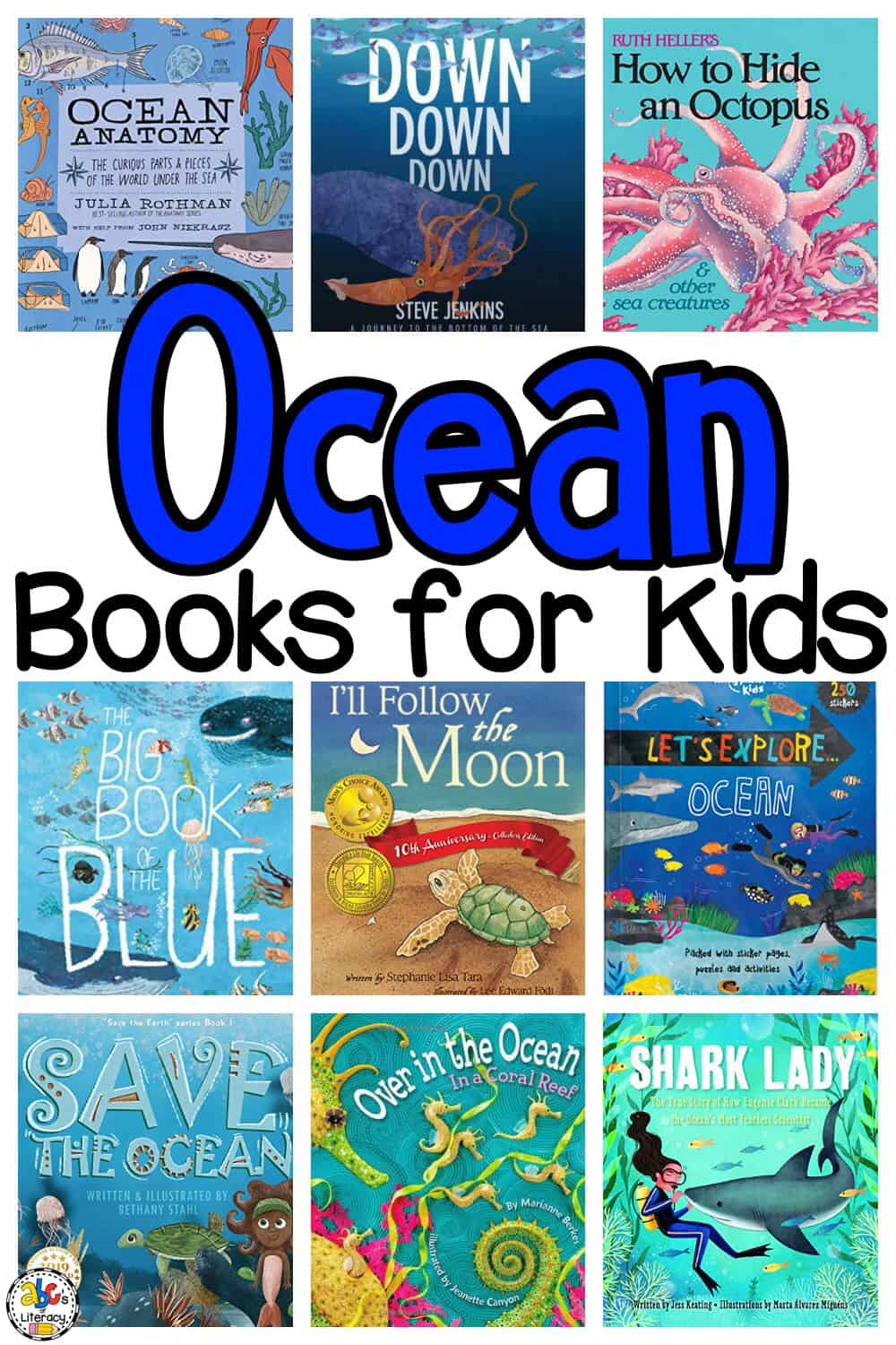 Ocean Picture Books For Kids To Learn About Sea Life