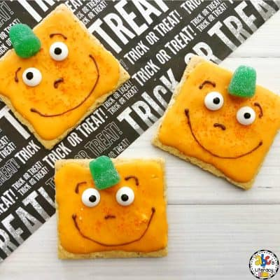 How To Make A Spookley the Square Pumpkin Snack