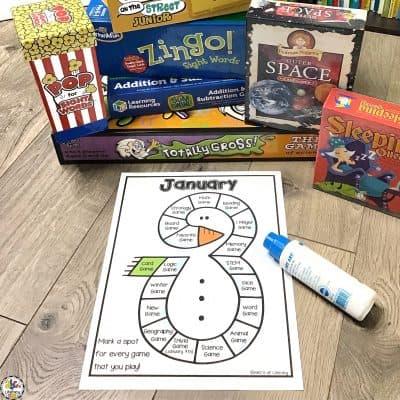 Monthly Gameschool Logs: Gameschooling Resource
