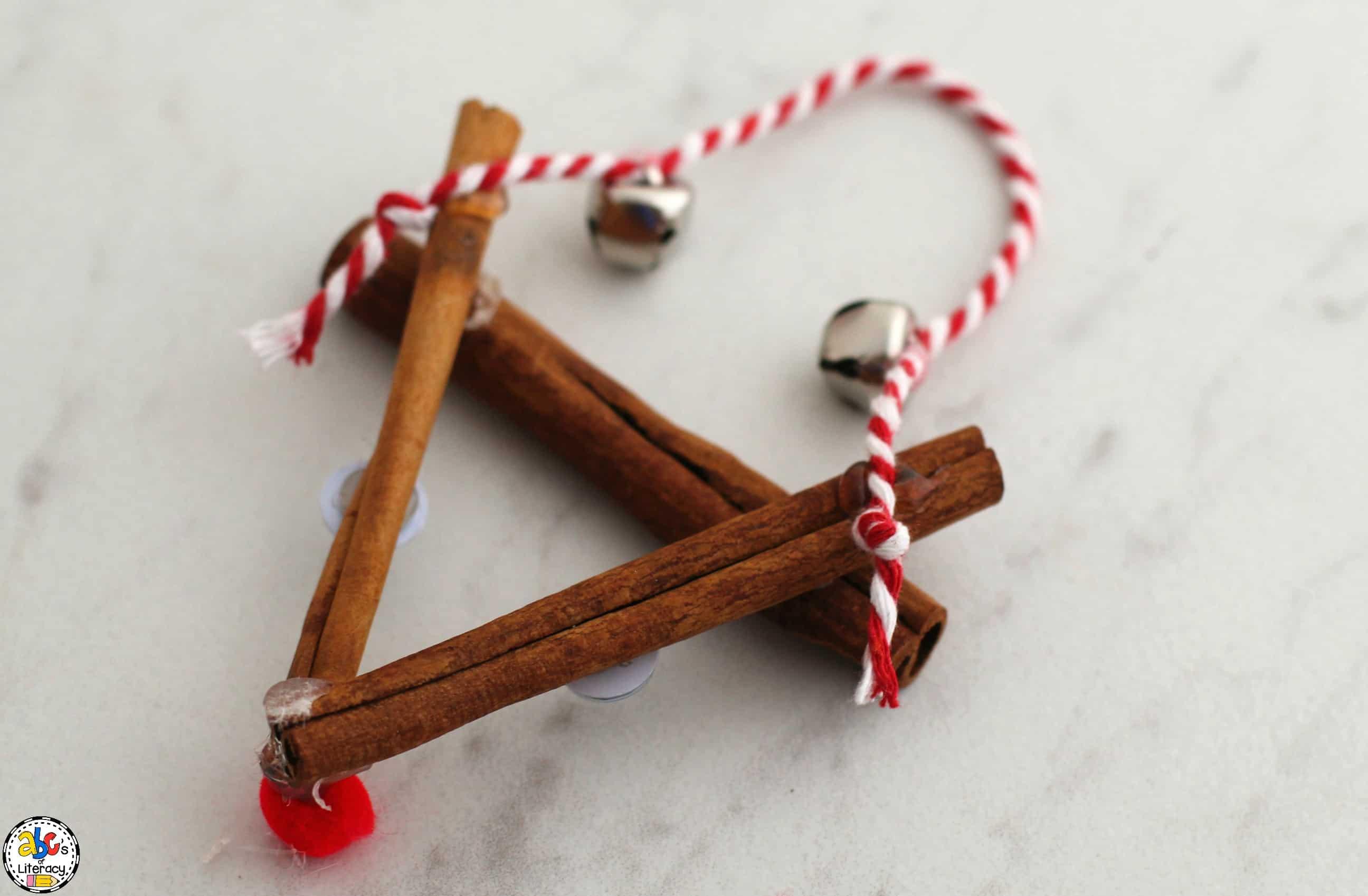 Cinnamon Stick Rudolph Ornament