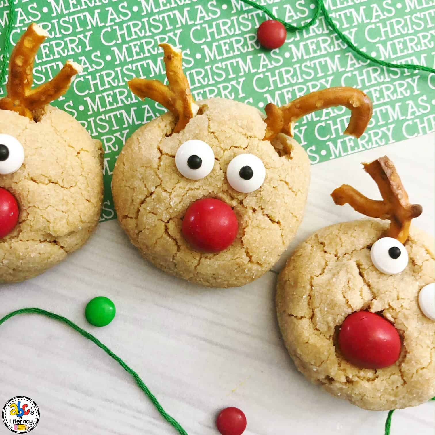 Rudolph Cookies: Christmas Snack
