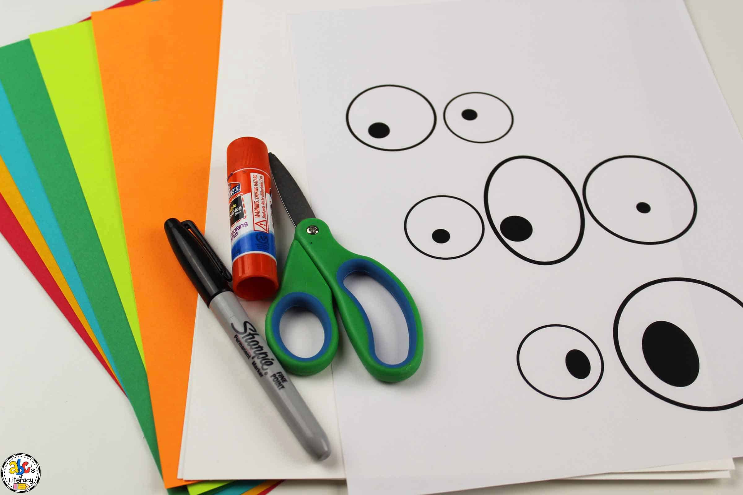 supplies needed for this paper germ craft