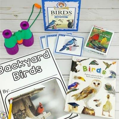 National Bird Day Strewing Ideas