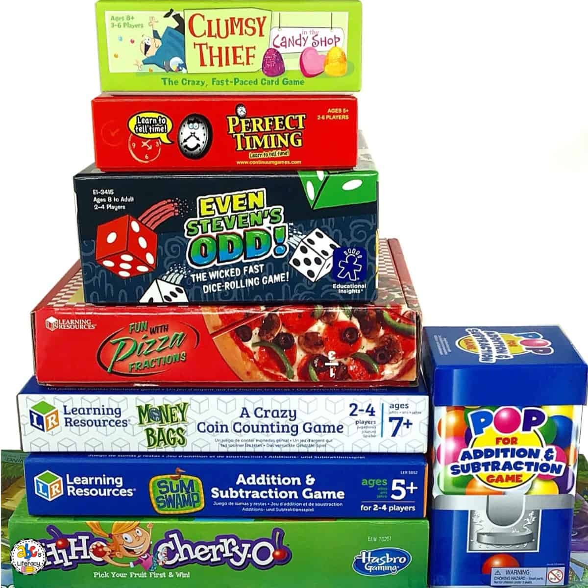 Gameschooling: Math Games for Kids for Hands-On Learning