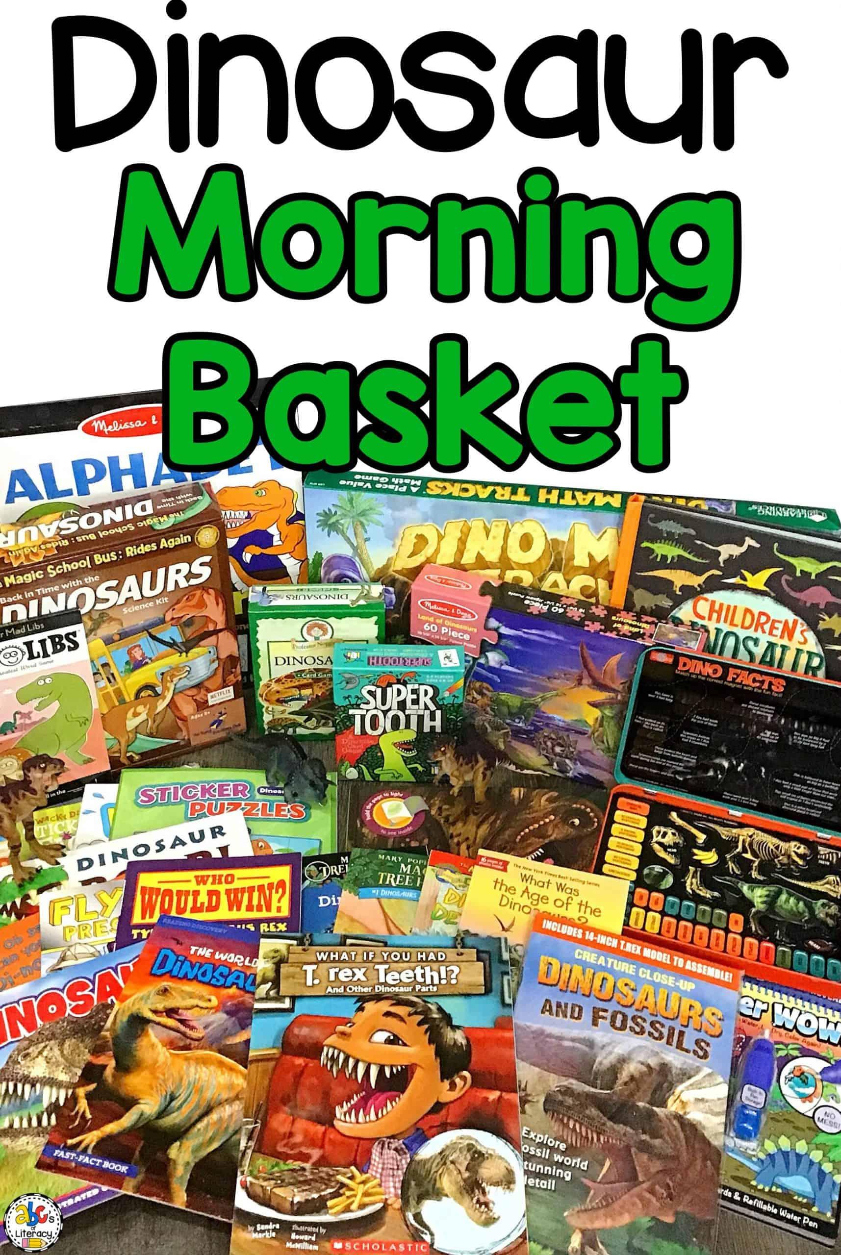 Dinosaur Morning Basket