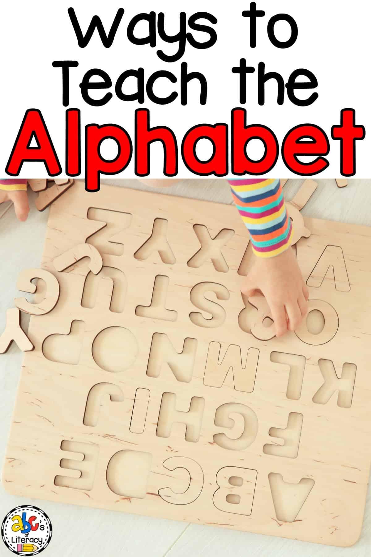 Way To Teach The Alphabet