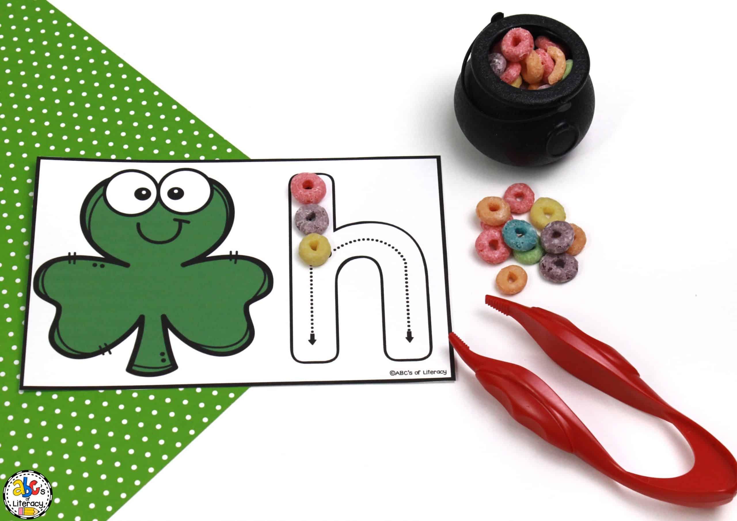 St. Patrick's Day Alphabet Activity