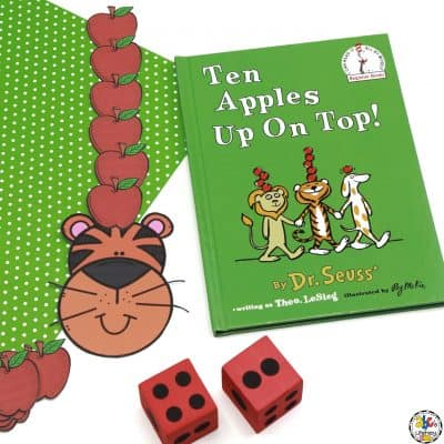 Apples Up On Top Addition Game