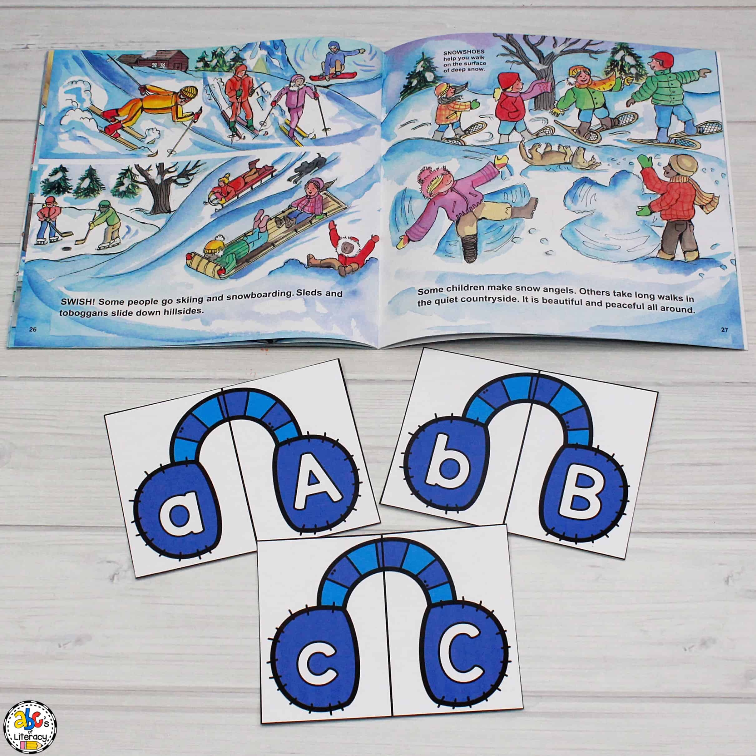 Winter Letter Recognition Activity
