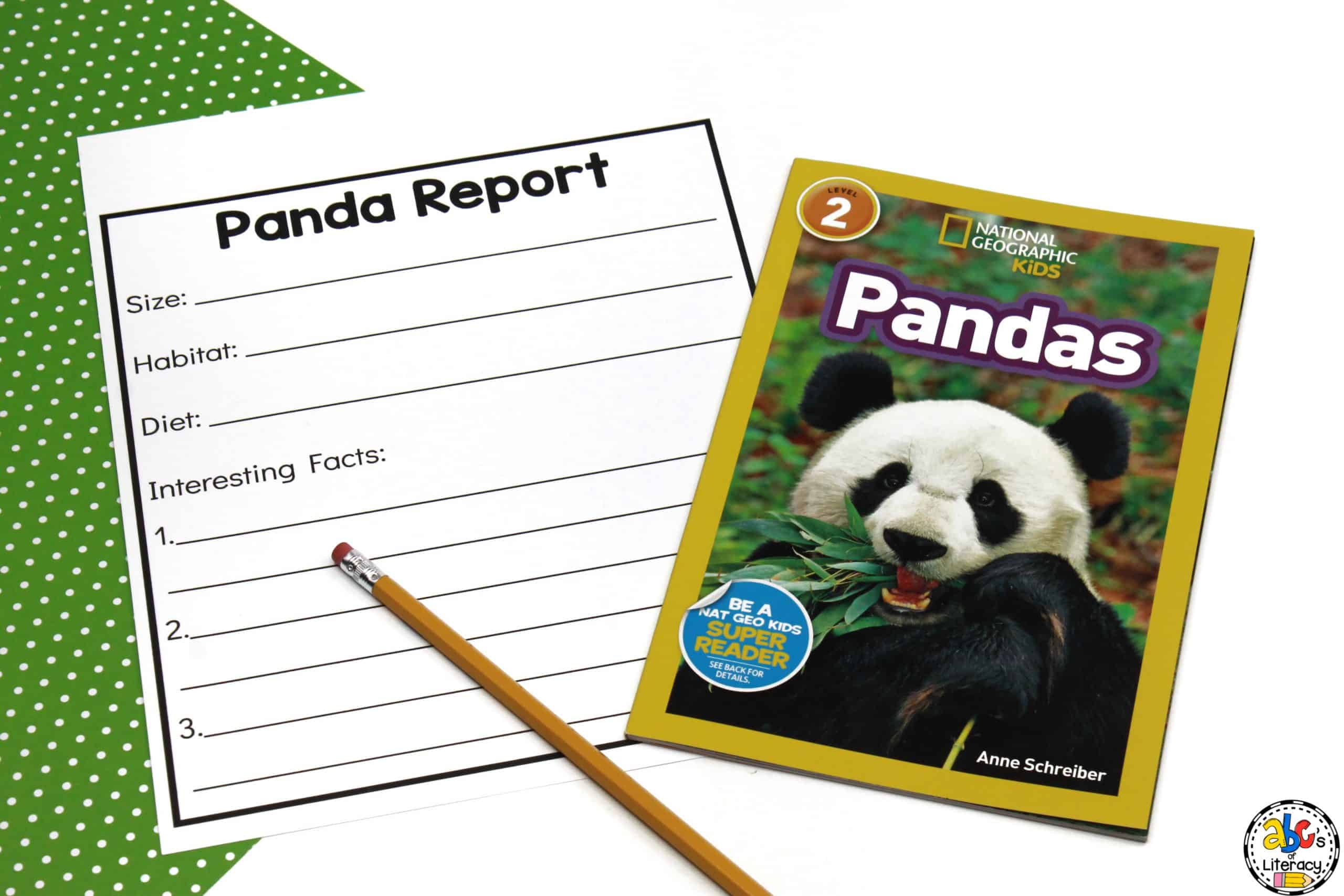 Panda Research Report with Non-Fiction Book