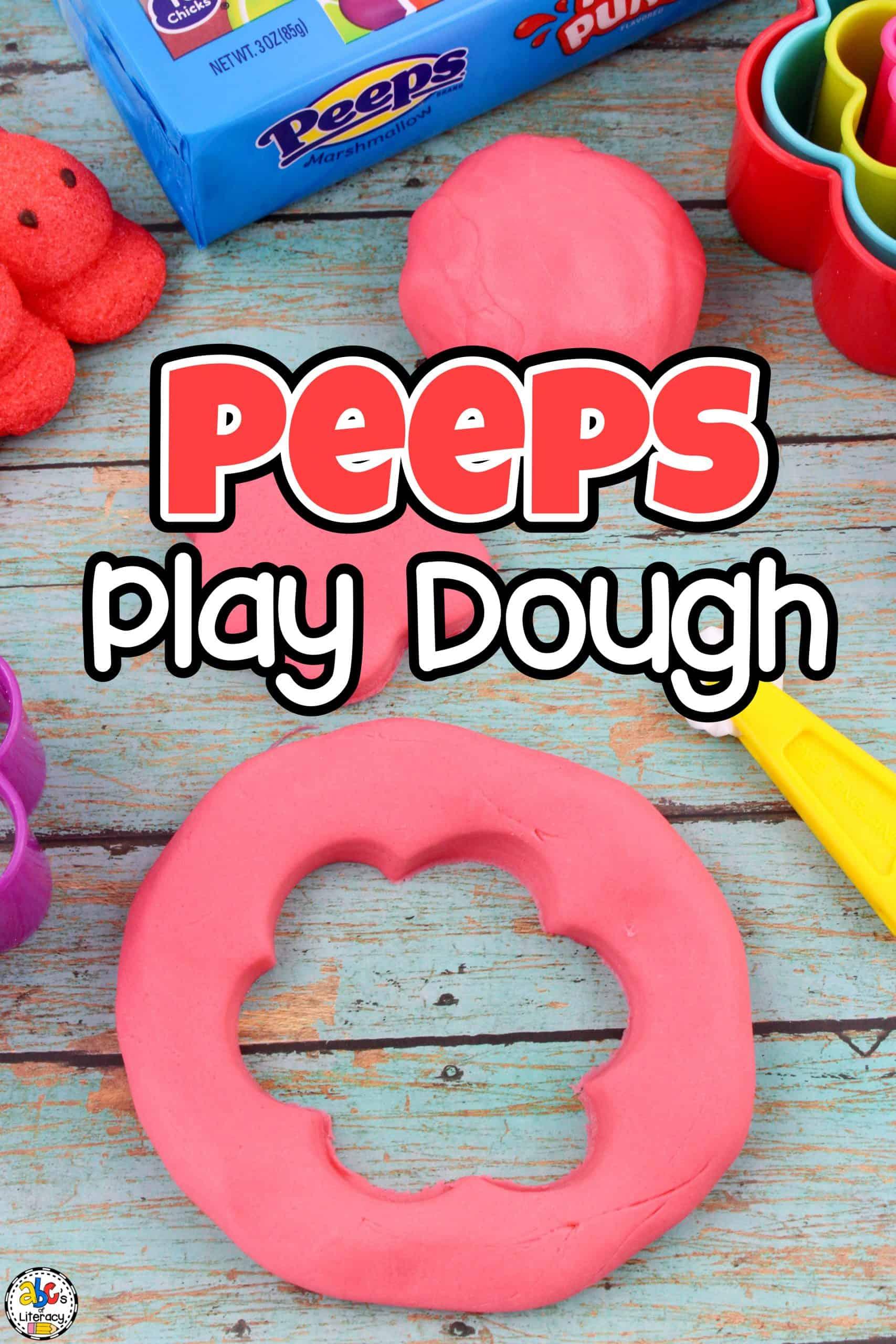 Peeps Play Dough