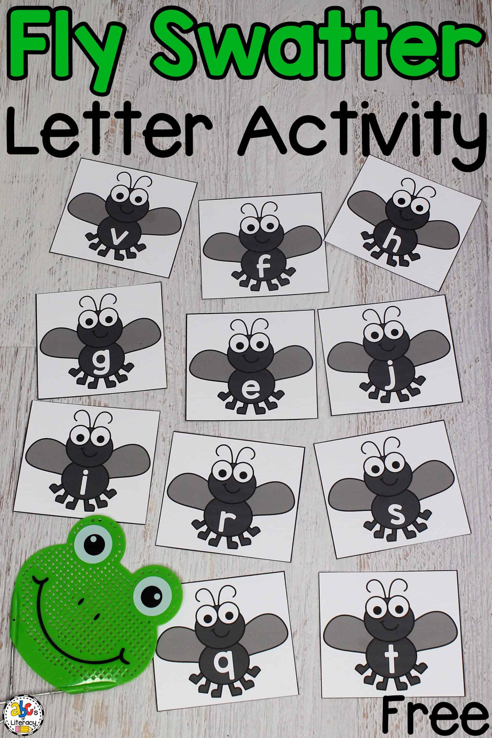 Fly Swatter Alphabet Game