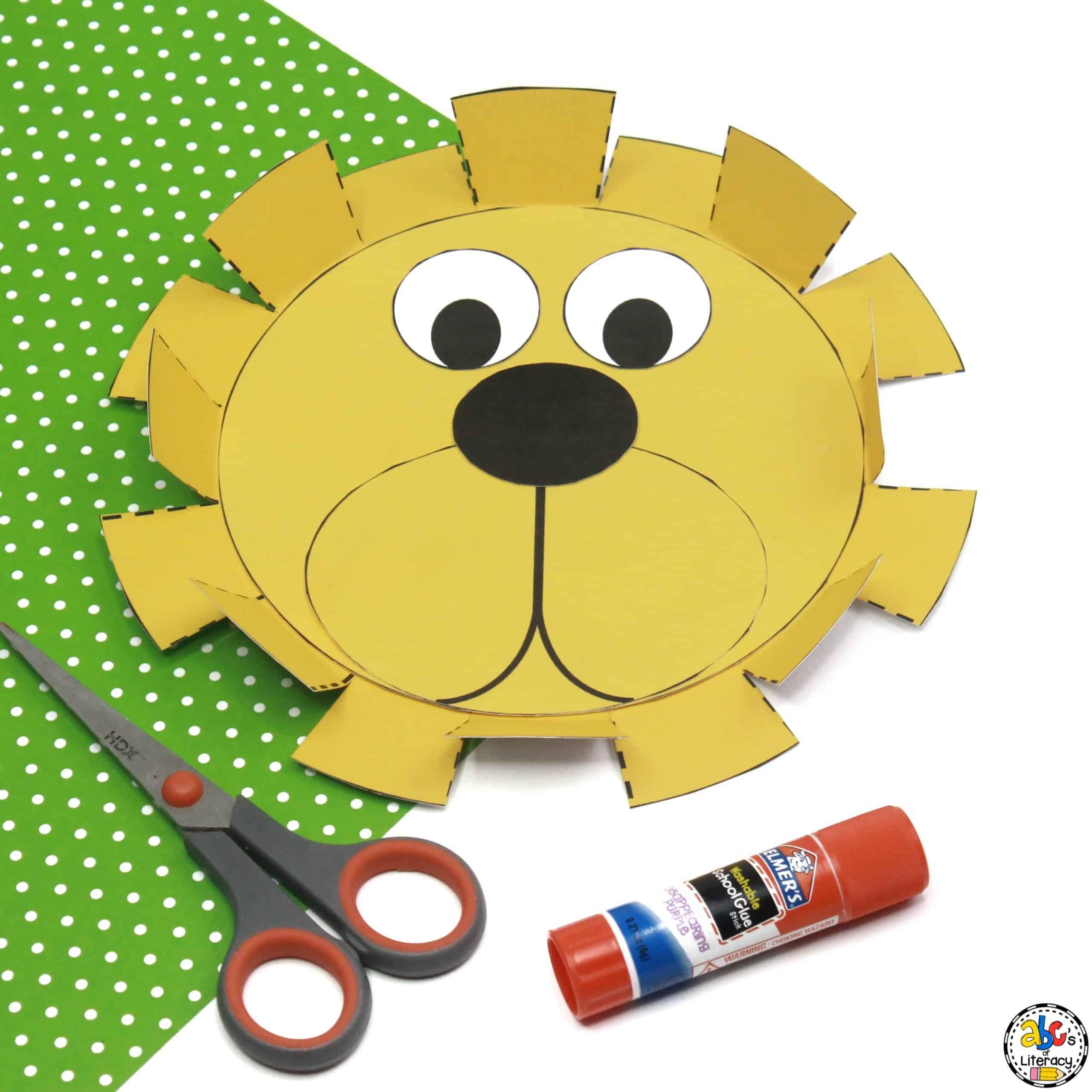 Lion Mane Cutting Activity
