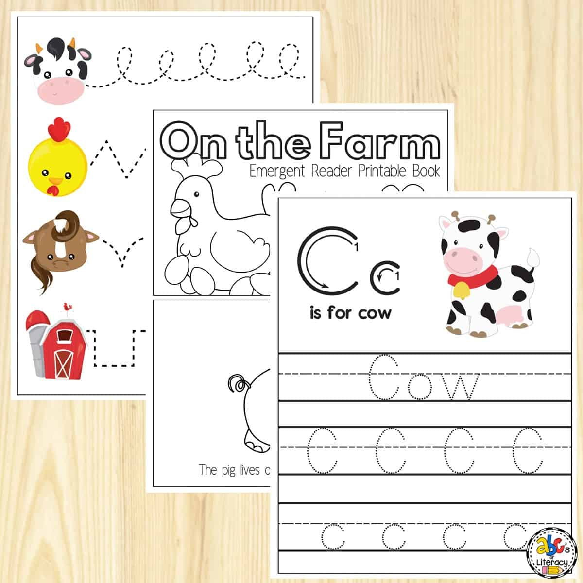 Farm Preschool Worksheets