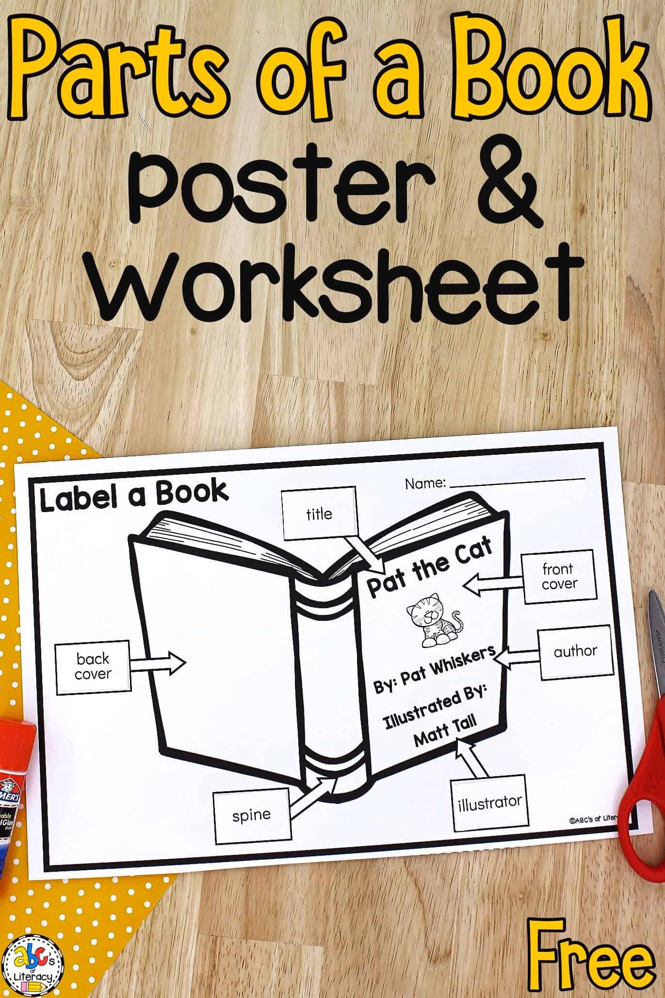 Concepts of Print Worksheet