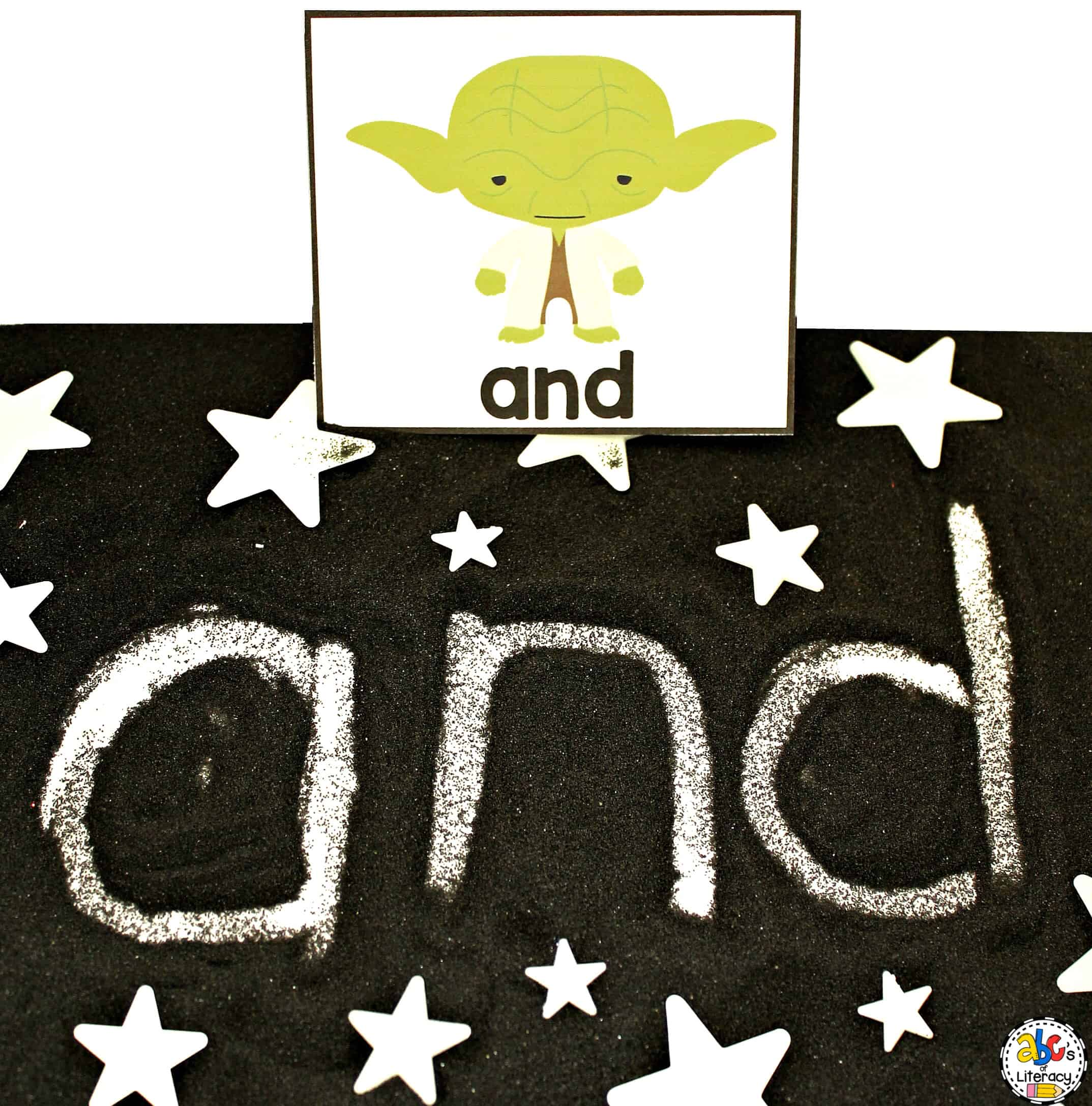 Star Wars Sight Word Writing Tray For May The 4th Be With