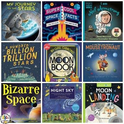 Over 50 Space Books for Future Astronauts