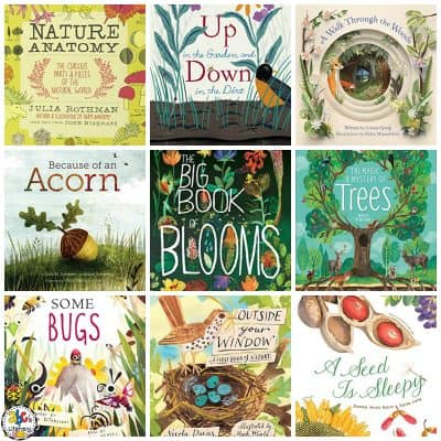 Over 40 Nature Books For Kids