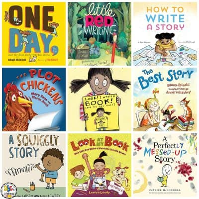 Over 25 Books About Writing For Kids
