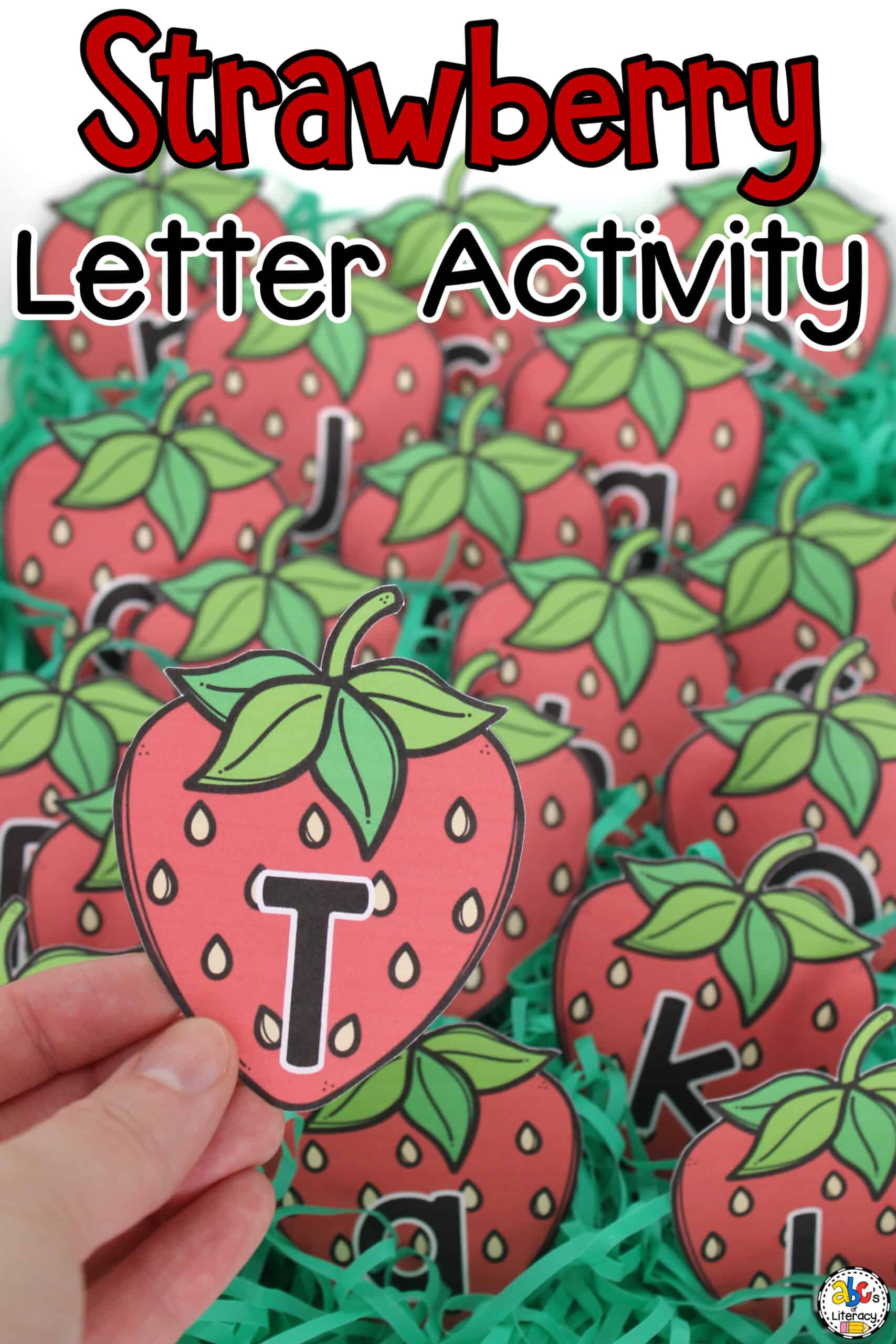 Strawberry Letter Recognition Activity