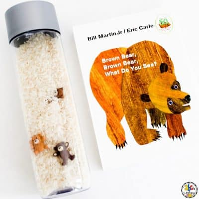 Brown Bear Sensory Bottle