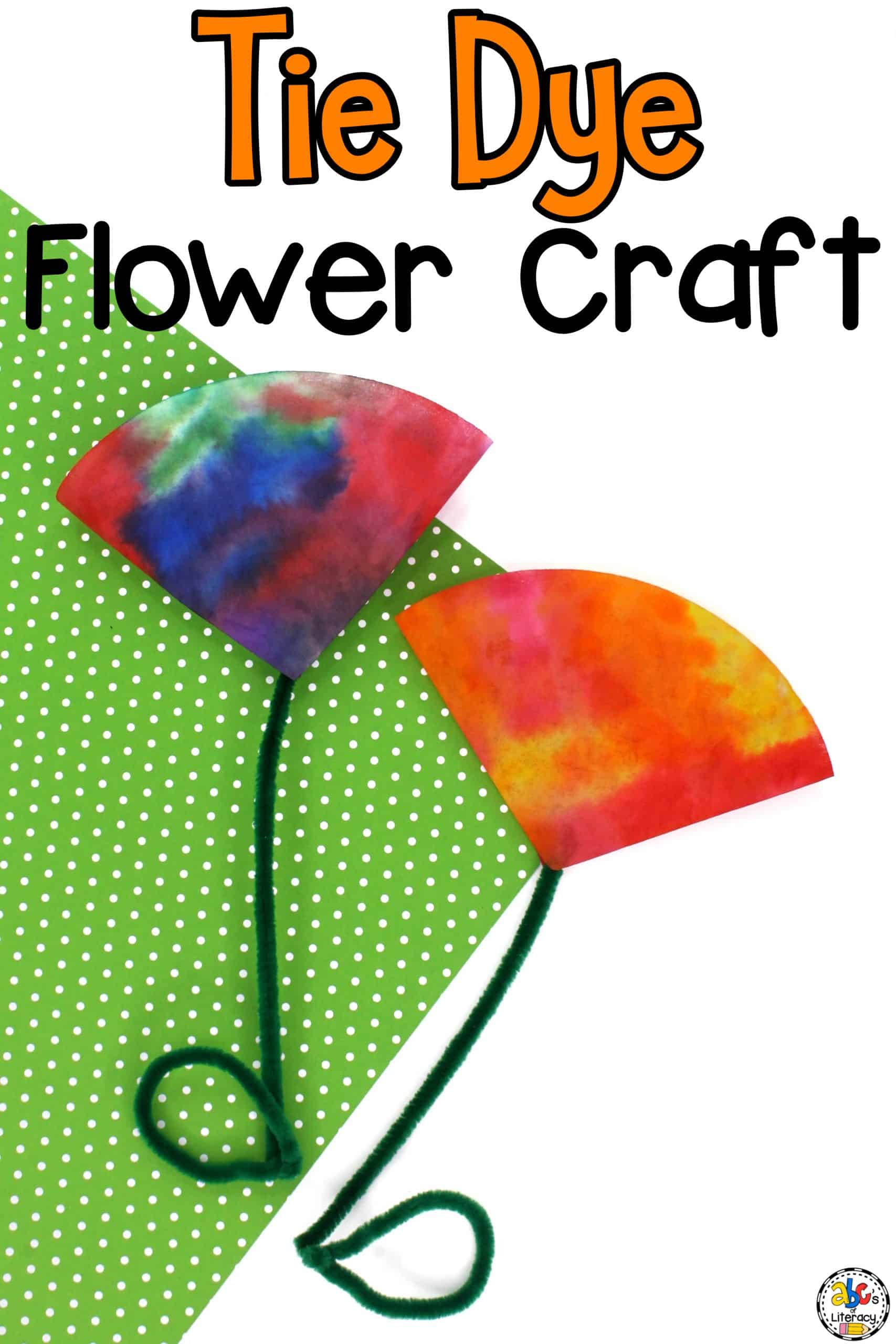 Tie Dye Coffee Filter Craft